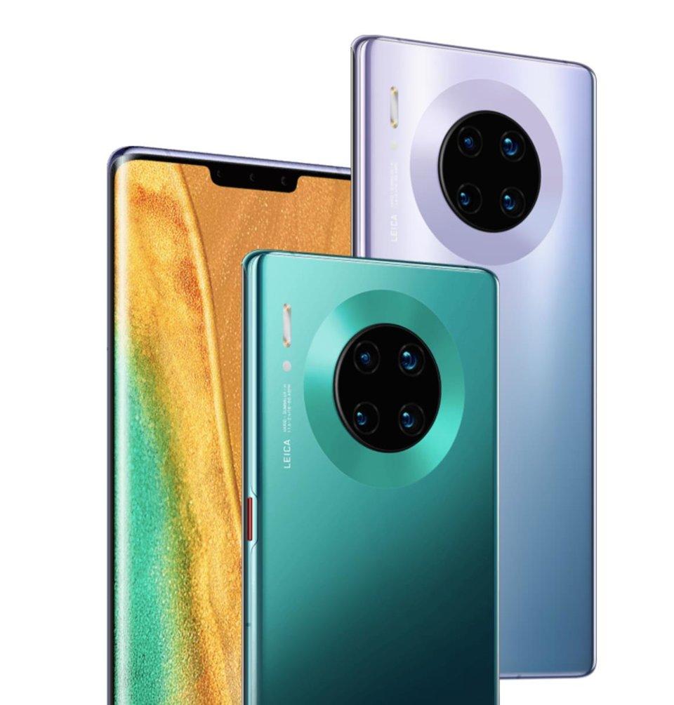 Parim kaameratelefon Mate 30 Pro firmalt Huawei