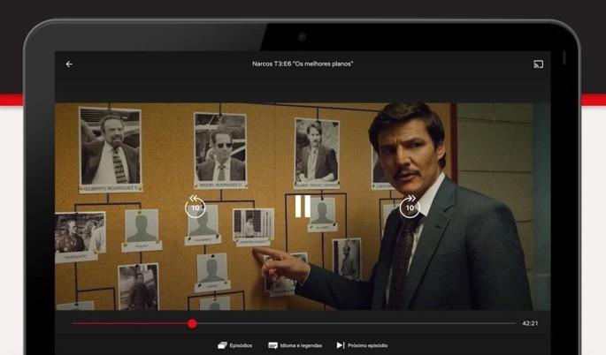 Netflixi Chromecast rakendus