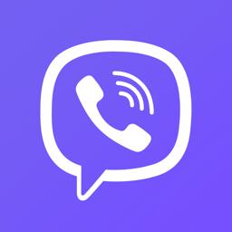 Viber Messengeri rakenduse ikoon