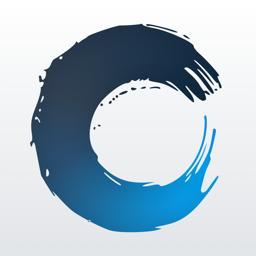 Carbo-rakenduse ikoon Märkused ja visandid