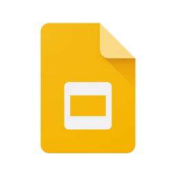 Google'i esitluste rakenduse ikoon
