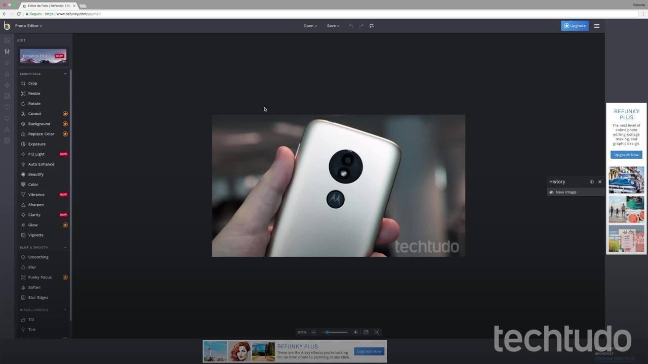 Kuidas redigeerida arvutis olevaid fotosid ilma midagi alla laadimata