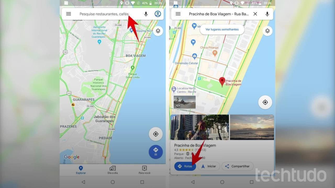 Kuidas teada saada, kas bussiga on kaasas Google Maps