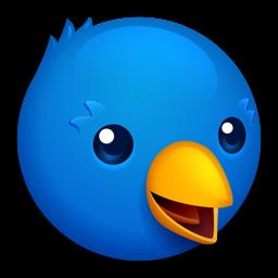 Twitterrific rakenduse ikoon: Tweet Tee