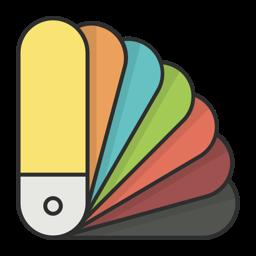 Pikka - värvi valija rakenduse ikoon