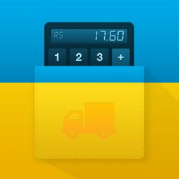 ICalculaFrete rakenduse ikoon