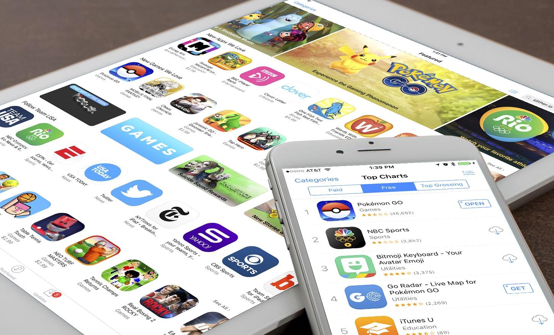 Suur probleem: nelja aastaga on peamiste iOS-i rakenduste keskmine maht kasvanud enam kui 1000%