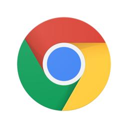 Google Chrome'i rakenduse ikoon