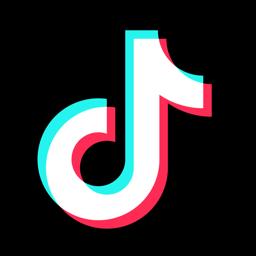 TikToki rakenduse ikoon