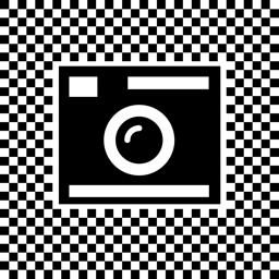 Pixel Art kaamera rakenduse ikoon