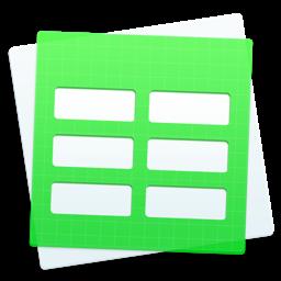 DesiGN numbrite jaoks - mallirakenduse ikoon