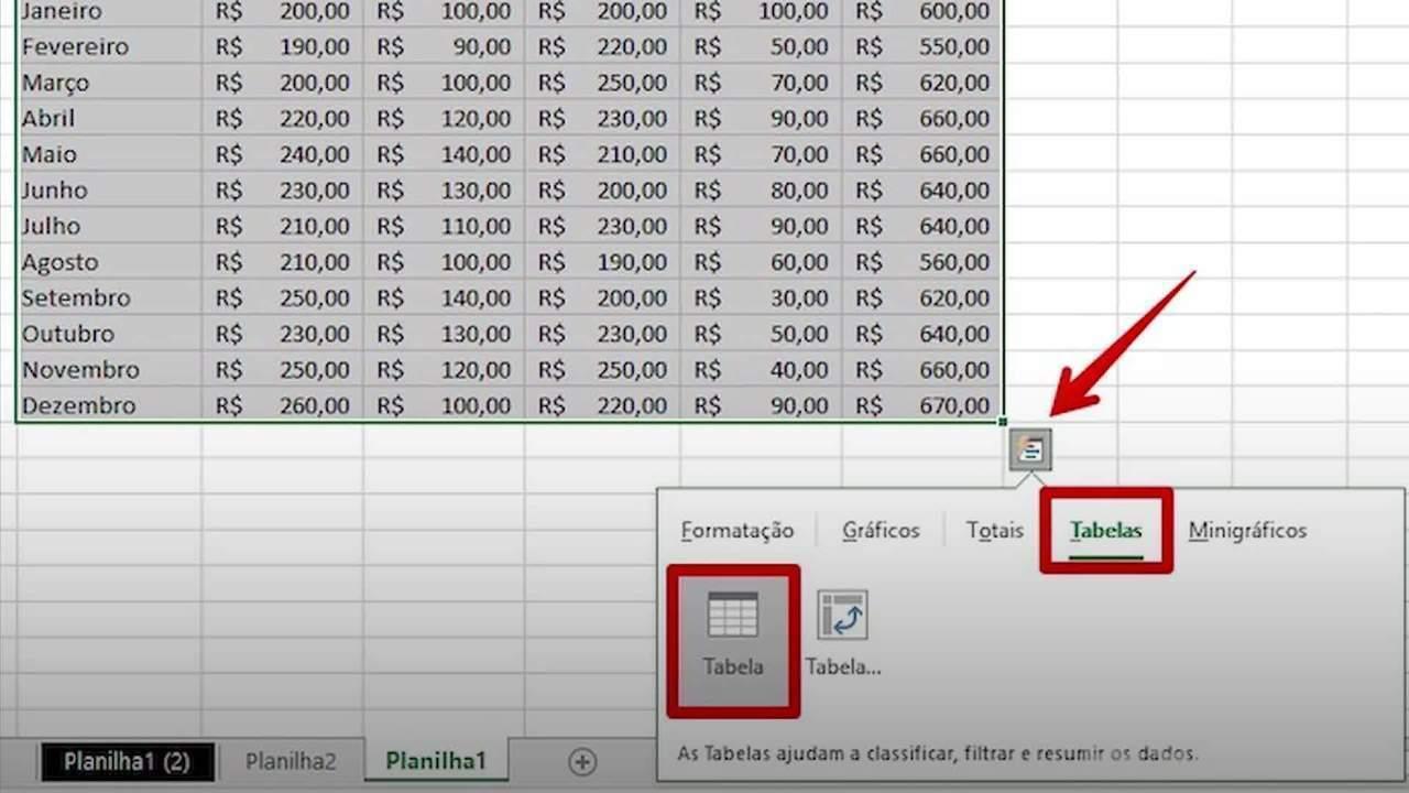 Kuidas kohandada Exceli arvutustabelit