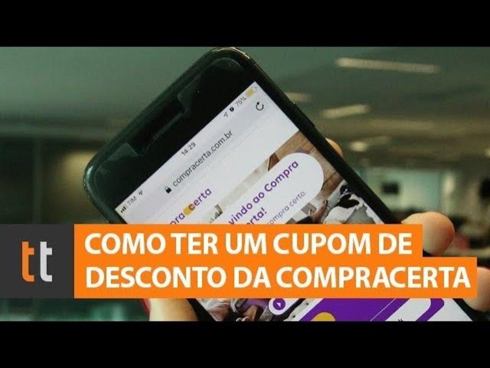 Kuidas leida sooduskuponge Compra Certa veebisaidilt