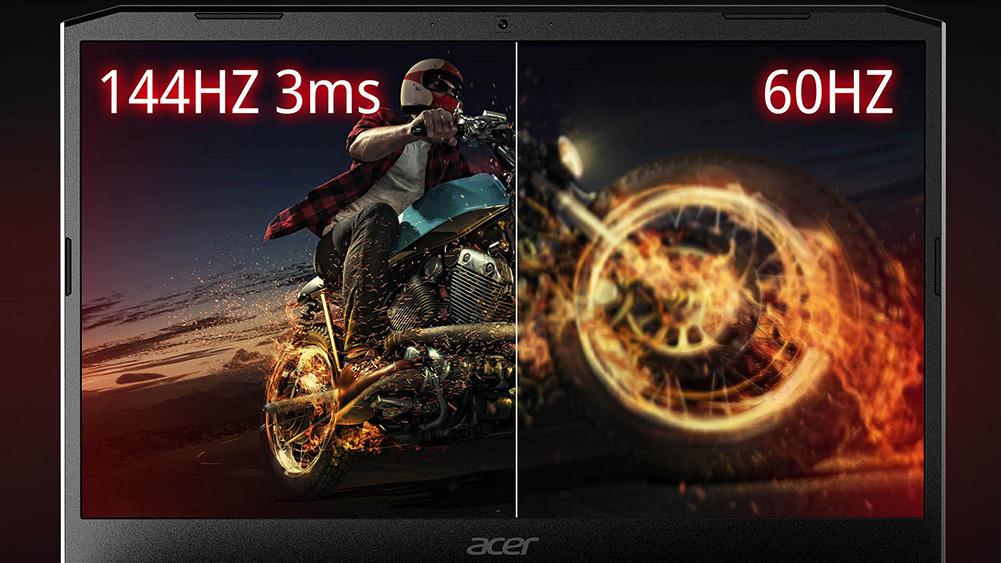 Üksikasjad Nitro 5 ekraani kohta, Aceri mängumärkmik