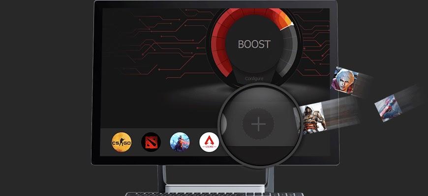 Nutikas mängu Booster 4: programmi ülekiirendamine ja arvuti kiiruse suurendamine