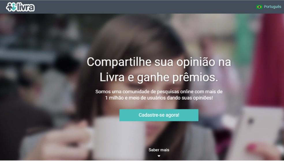 Livra uuringus osaledes saavad kasutajad punkte, mida vahetada fotoauhindade vastu: Reproduo / Lvia Dmaso