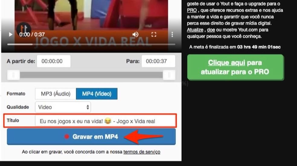 Kui laadite oma veebisaidi kaudu Facebookist videoid alla, siis Foto: Reproduo / Marvin Costa