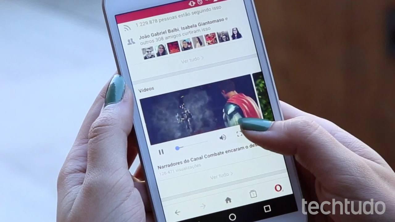 Kuidas alla laadida Facebooki videoid Android-telefonist