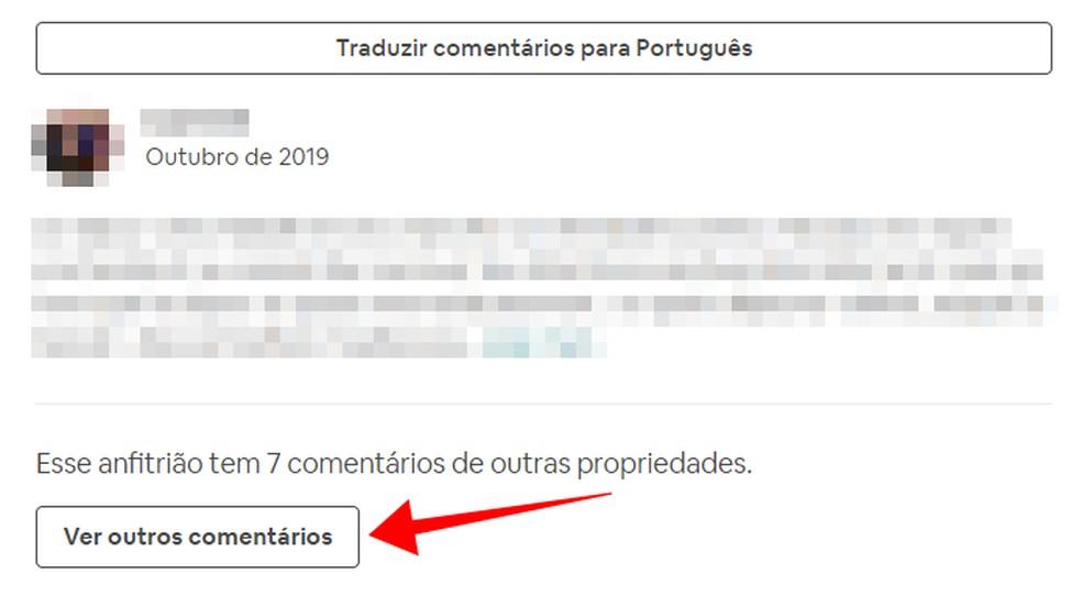 Vaadake, kas hostil on kommentaare teistelt kinnisvaraobjektidelt Foto: Reproduo / Paulo Alves