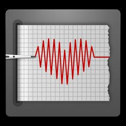 Kardiograafi rakenduse ikoon (kardiograaf)