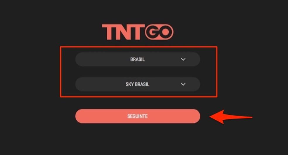 Kui rääkida teleoperaatoritest, et kasutada TNT Go veebiteenust veebis Foto: Reproduo / Marvin Costa