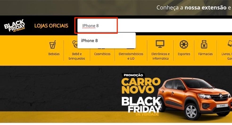 Musta reede veebisaidilt teatud toodete reklaamide otsimisel Foto: Reproduction / Marvin Costa