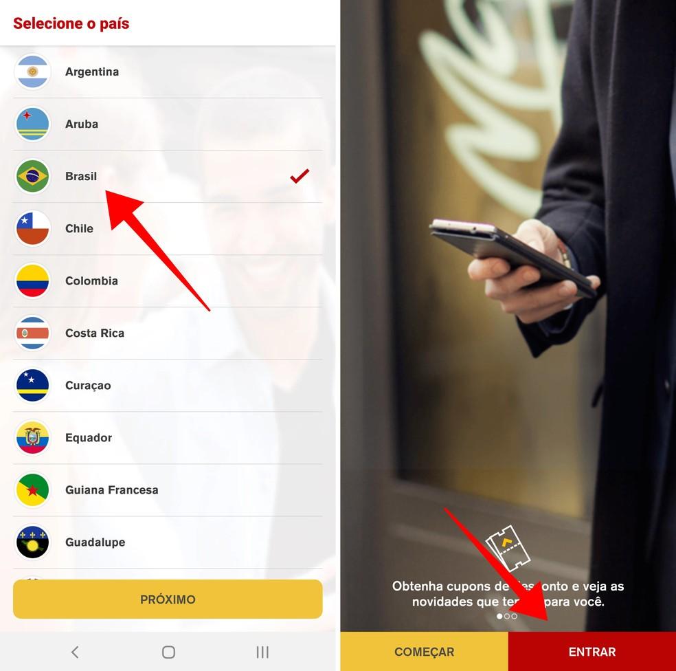 Laadige oma mobiiltelefonilt alla McDonaldsi rakendus. Foto: Reproduo / Paulo Alves