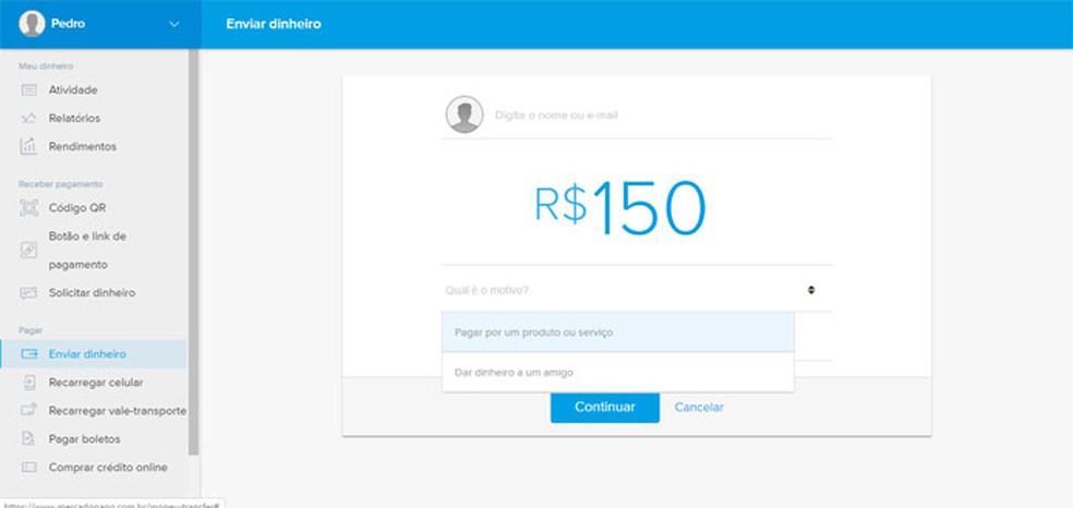 Raha saatmine või taotlemine võib olla praktiliselt sama. Foto: Reproduo / Pedro Cardoso