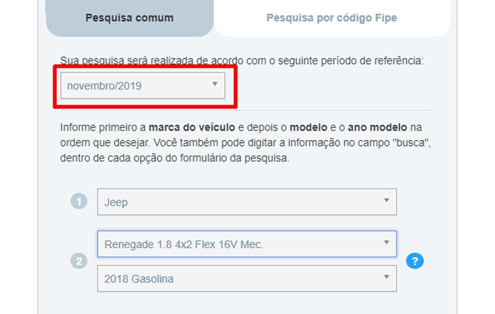 FIPE tabelis on võimalik näha auto keskmist hinda Fotode: Reproduo / Rodrigo Fernandes