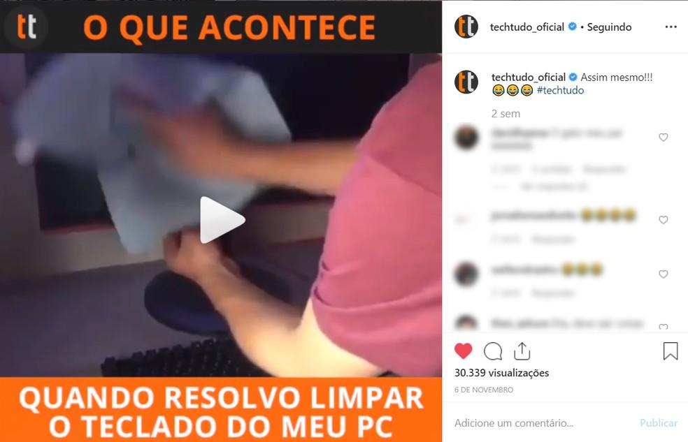 Klõpsake videol, et neid Instagrami veebifotos peatada: Foto Reproduo / Ana Letcia Loubak