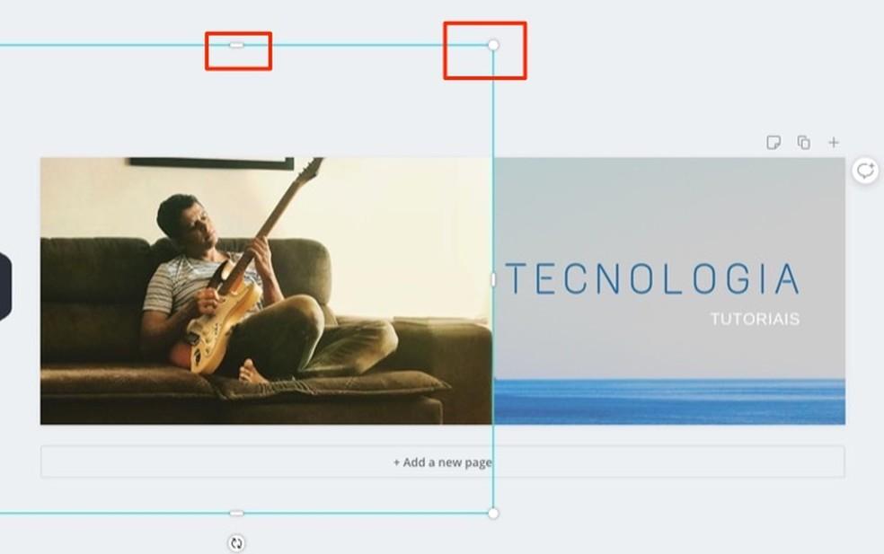 Millal muuta Canva Fotoga loodud Twitteri kaanemallide piltide suurust: Reproduo / Marvin Costa võrguteenus