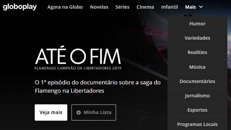 Sirvige kategooriaid, et leida teatud sisu, mida ei kuvata fotode esimesel lehel: Reproduo / Paulo Alves