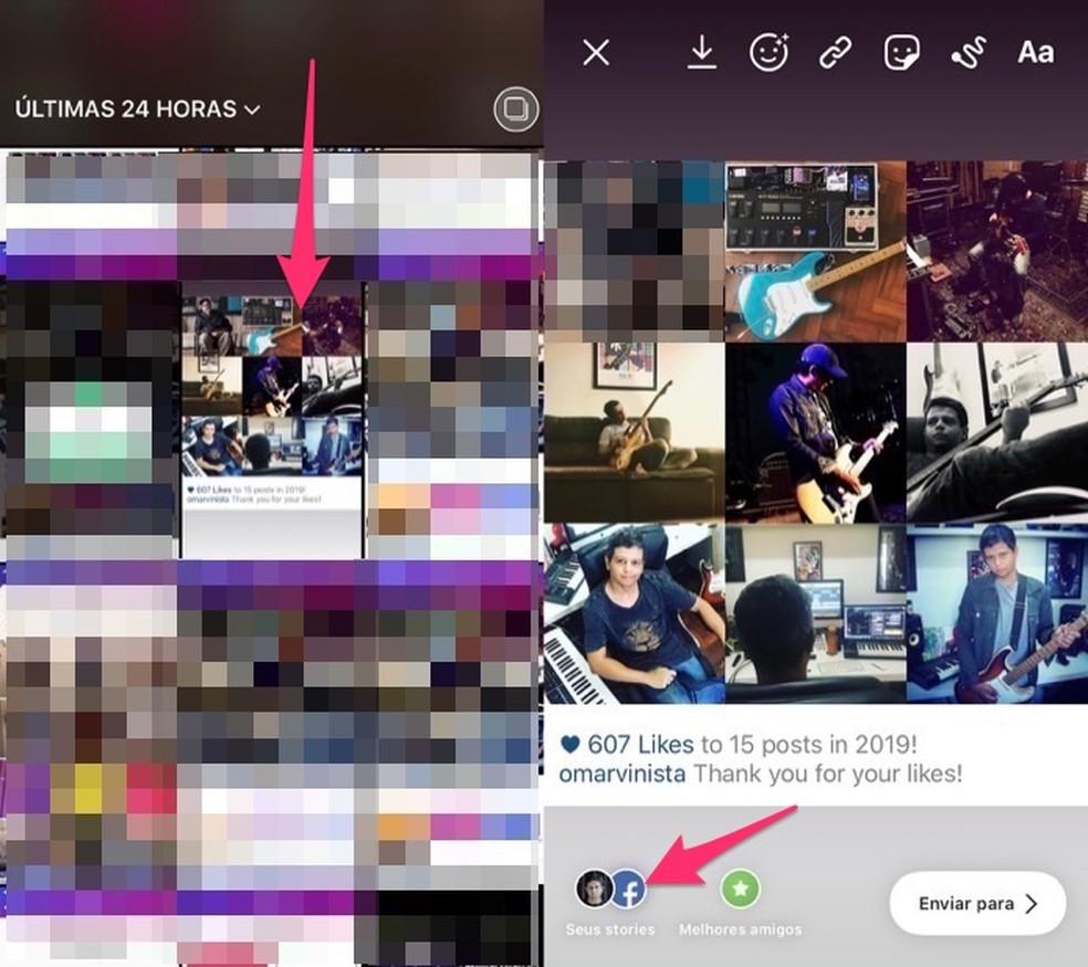 Millal avaldada üheksa parima Instagrami loo fotode retrospektiiv: Reproduo / Marvin Costa