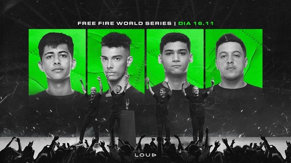 LOUD ja selle mängijad hõivavad Brasiilia uue sisu loojate nimekirjas 8 postitust. Foto: Divulgao / Twitter / LOUD
