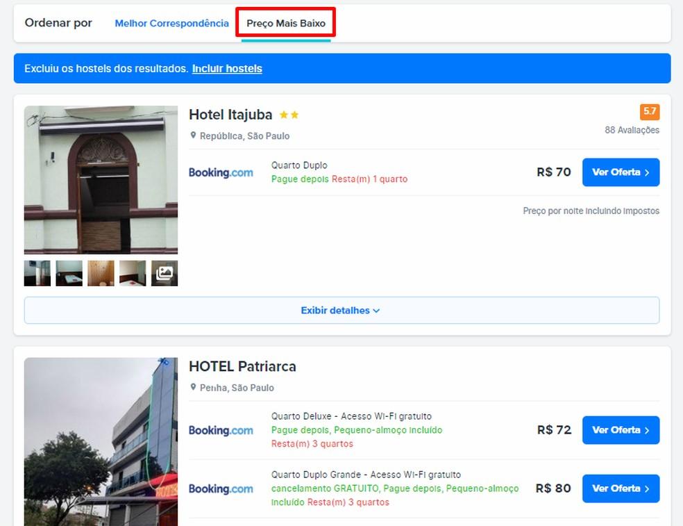FindHotel näitab odavamaid hotellihindu. Foto: Reproduo / Rodrigo Fernandes