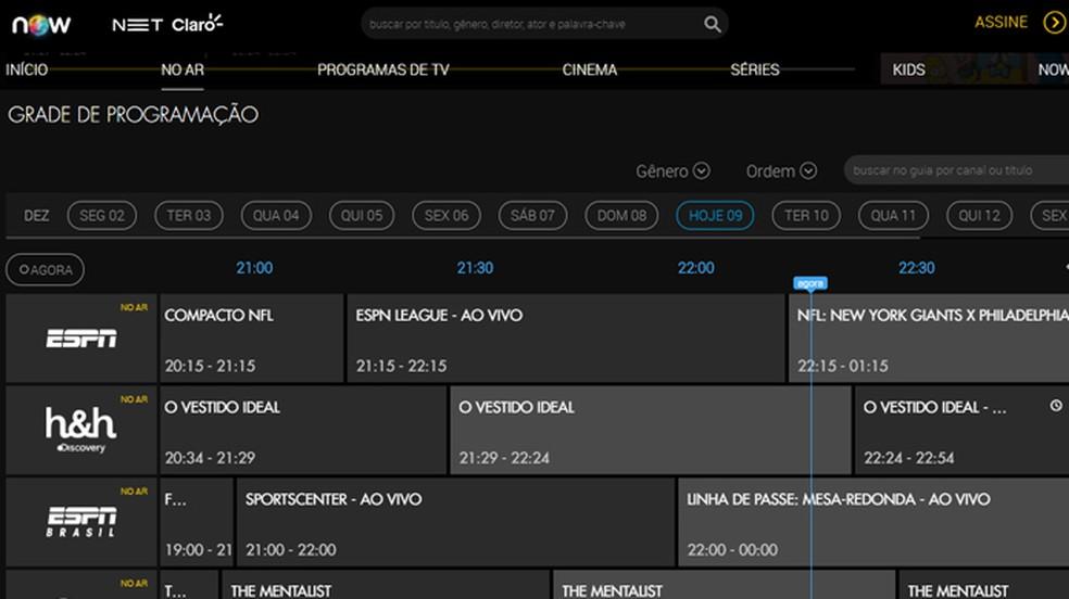 Vaadake fotokanali programmeerimiskasti: Reproduo / Gabrielle Ferreira