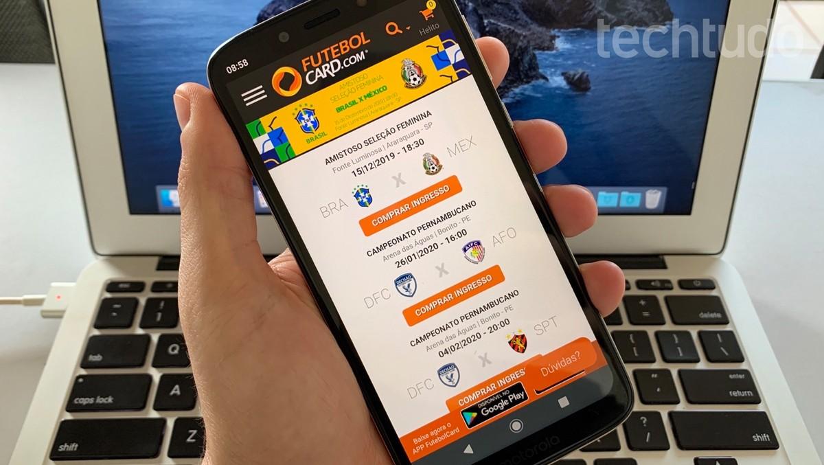 Kuidas mobiiltelefonilt Futebolcardist pileteid osta Tootlikkus