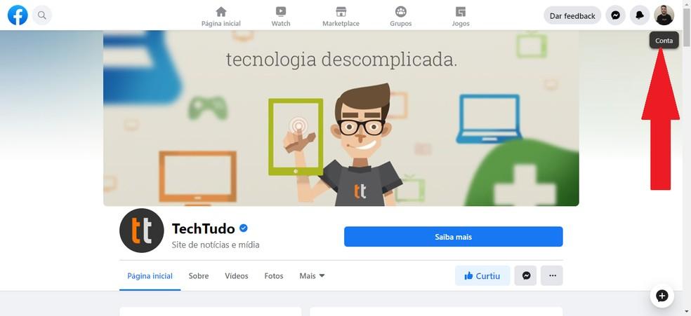 Kasutage oma Facebooki kontot, et aktiveerida uus fotofunktsioon: Reproduo / Guilherme Ramos