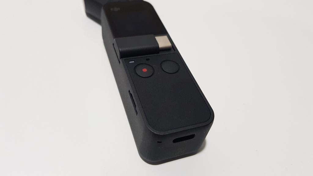 Tasku Osmo nupp ja USB-C pistik