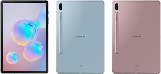 Galaxy Tab S6 tagaküljel on kahekordne kaamera