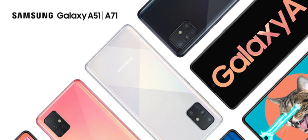 Lõuna-Korea ettevõtte üritusel Vietnamis avati Samsung Galaxy A51 ja A71 (Foto: Samsung)
