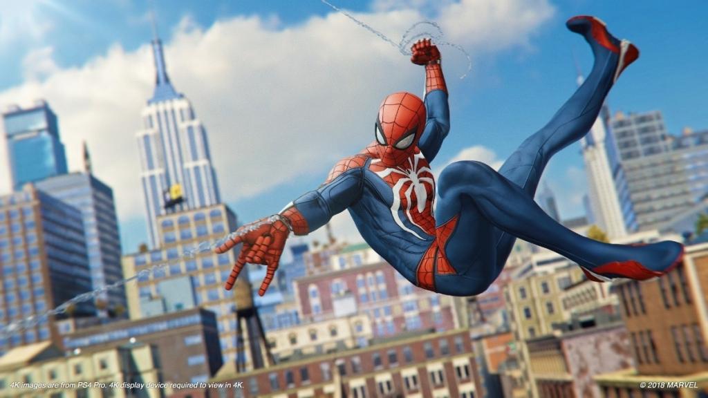 Spider-Man mänge testitakse PlayStation 5 SSD-de peal ja nende reageerimisaeg on PS4-ga võrreldes palju lühem (Foto: Reproduo)