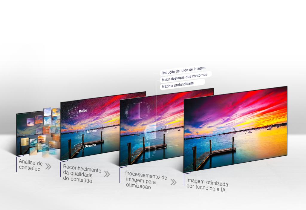 Alpha 9 (a9) protsessor analüüsib lõpliku pildi optimeerimiseks miljoneid näidissisu