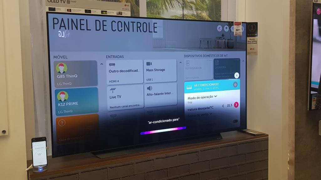 LG ühendatud kodu ThinQ AI Smart TV