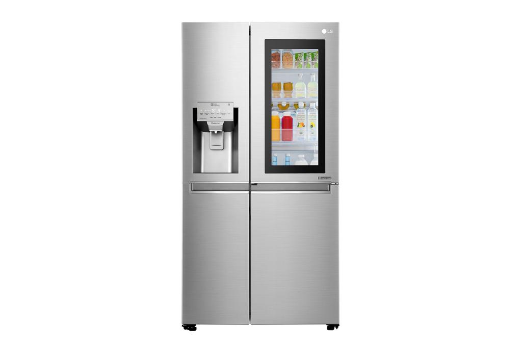 Instaview Door-in-Door on LG nutikas külmik, mille paneelis on tehnoloogia, mis võimaldab külmiku sisemist sisu visualiseerida ilma seda avamata.