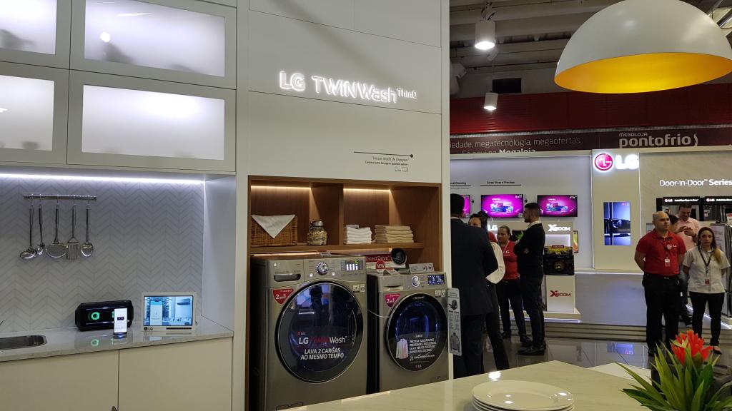 LG ühendatud maja TWINWash pesumasin