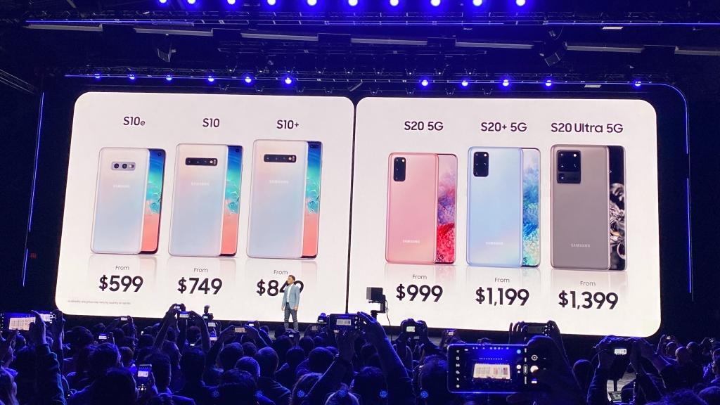 Galaxy nutitelefonide hinnavõrdlus