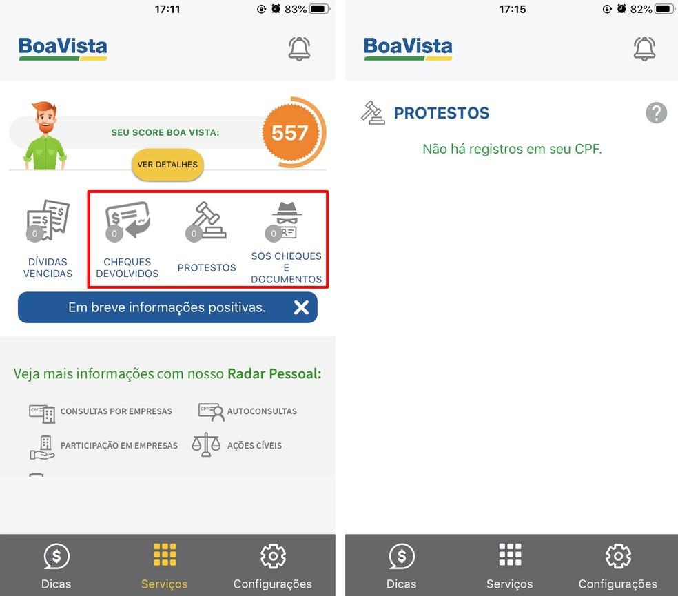 Boa Vista Consumidor Positivo kuvab kõik võimalikud probleemid, mida CPF lahendab Foto: Reproduo / Rodrigo Fernandes