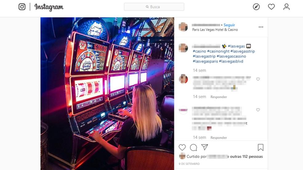 Mõned Las Vegase kasiinod takistavad külastajaid seestpoolt pilte tegemast. Foto: Reproduo / Instagram