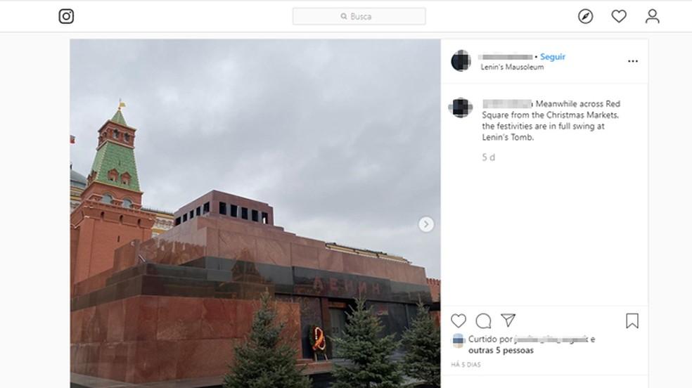 keelatud on pildistada Nõukogude juhi Vladimir Lenini säilmeid. Foto: Reproduo / Instagram